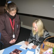 Signing Copies of Bobby At a lovely school