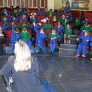 Reading to the junior school